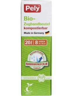 Pely Bio-Zugbandbeutel kompostierbar 20 Liter