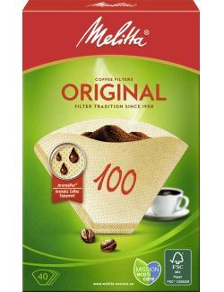 Melitta Filtertüten Original 100