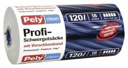 Pely Profi-Schwergutsäcke mit Verschlussband 120 Liter