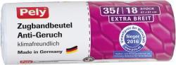 Pely Zugband-Müllbeutel Anti Geruch extra breit 35 Liter