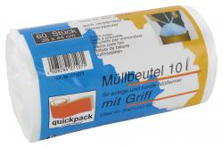 Quickpack Müllbeutel 10 Liter