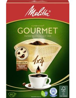 Melitta Gourmet Filtertüten 1x4 - 4006508206834