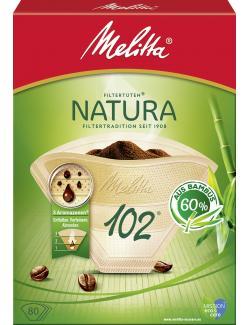 Melitta Filtertüten Natura 102 aus Bambus
