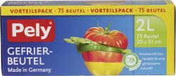 Pely Gefrierbeutel 2 Liter Vorteilspack