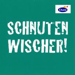 Duni Servietten 33 x 33cm Schnutenwischer grün (1 St.) - 7321011677061