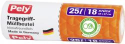 Pely Tragegriff-Müllbeutel 25 Liter (18 St.) - 4007519056456