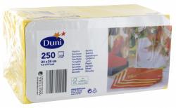 Duni Servietten 24x24cm gelb (250 St.) - 7321011684168