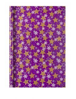 Duni Christmas Stars Geschenkfolie 2mx70cm - 7321011644728
