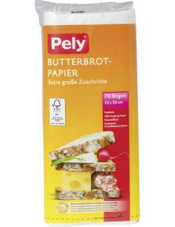 Pely Butterbrotpapier Zuschnitte