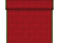 Duni 3in1 Dunicel 40x480cm Festive Charme red