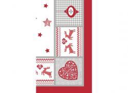 Duni Mitteldecke Dunicel 84x84cm Nordic Christmas