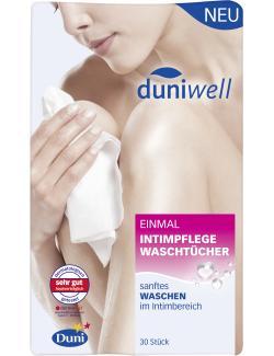 Duniwell Einmal Intimpflege Waschtücher