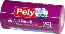 Pely Zugband-Müllbeutel 25 Liter Anti-Geruch