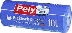 Pely Tragegriff-Müllbeutel 10 Liter