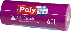 Pely Zugband-Müllbeutel 60 Liter Anti-Geruch