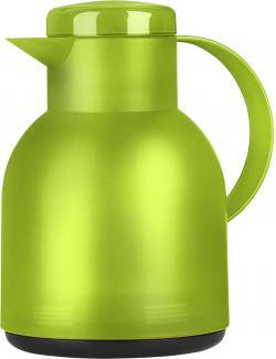 Emsa Samba Isolierkanne Quick Press 1,0 Liter transluzent hellgrün