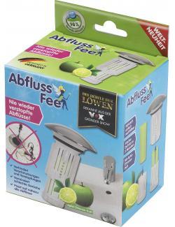 Abfluss-Fee Verschlussstopfen Apfel-Zitronen-Duft