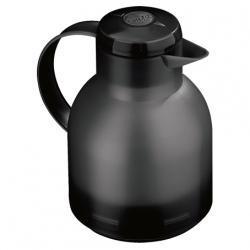 Emsa Samba Isolierkanne 1,0 Liter schwarz transluzent