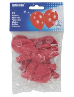 Riethmüller Luftballons rot (10 St.) - 4009775642114