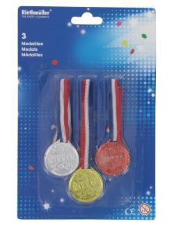 Riethmüller Medaillen (3 St.) - 4009775379317