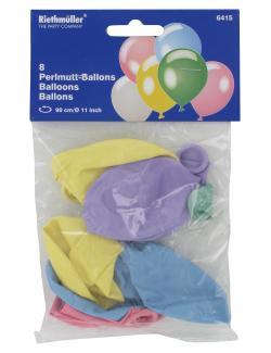 Riethmüller Perlmutt-Luftballons (8 St.) - 4009775641513