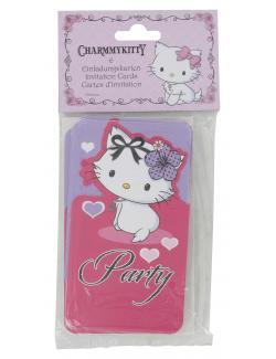 Riethmüller Einladungskarten Charmmykitty Hearts (1 St.) - 4009775413943