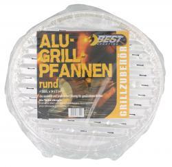 Best Sporting Alu-Grillpfannen rund