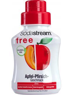 Soda Stream Free Getränkesirup Apfel-Pfirsich (375 ml) - 8718692611139