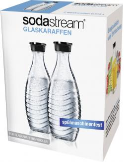 Soda Stream Glaskaraffe Duo-Pack (2 St.) - 8718309250942