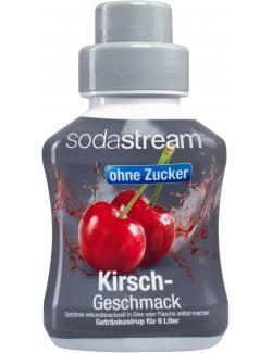 Soda Stream Getränkesirup ohne Zucker Kirsche