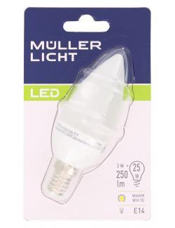 Müller Licht Leuchtmittel LED 3W E14 warmweiß