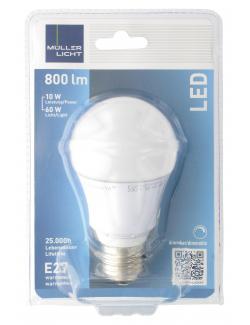 Müller Licht Leuchtmittel LED 10W E27 warmweiß (1 St.) - 4018412026040