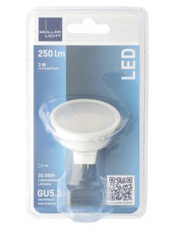 Müller Licht Leuchtmittel LED 3W GU5,3 warmweiß