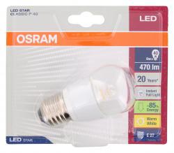 Osram LED Star Classic P40 6W 220-240V E27 - 4052899911956