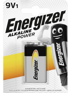 Energizer Alkaline Power E-Block 9V
