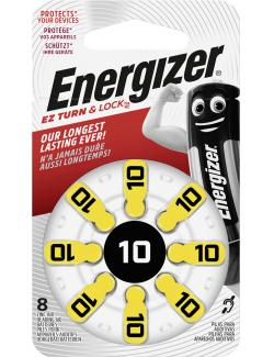 Energizer Hörgerätebatterien ZA Typ 10 8 Stück