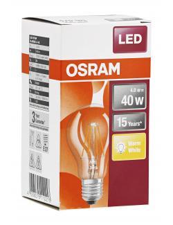 Osram LED Star Classic 4W E27
