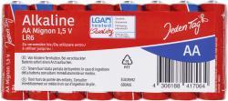 Jeden Tag Alkaline Mignon AA/LR6 1,5V