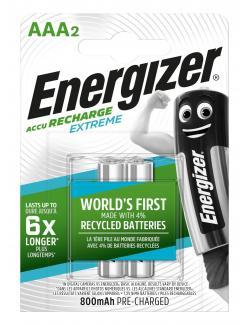 Energizer NiMH Akku Extreme, Micro (AAA) 800mAh