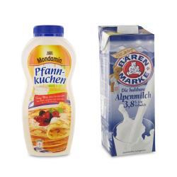 Set: Mondamin Pfannkuchen Teig-Mix - 2145300000892