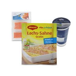 Set: Maggi fix & frisch Lachs-Sahne Gratin - 2145300001749