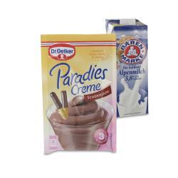 Set: Dr. Oetker Paradies Creme Schokolade - 2145300001954
