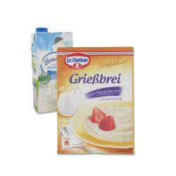 Set: Dr. Oetker Süße Mahlzeit Grießbrei - 2145300001996