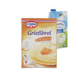 Set: Dr. Oetker Süße Mahlzeit Grießbrei Vanille - 2145300002003