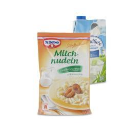 Set: Dr. Oetker Süße Mahlzeit Milchnudeln Vanille - 2145300002029