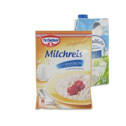 Set: Dr. Oetker Süße Mahlzeit Milchreis Klassisch - 2145300002032