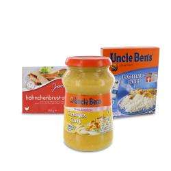 Set: Uncle Ben's Thailändisch Cremiges Curry - 2145300002263