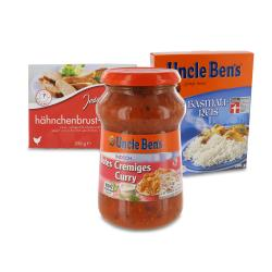 Set: Uncle Ben's Indisch Rotes Cremiges Curry - 2145300002289