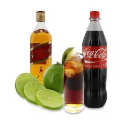 Set: Longdrink Johnnie Walker® & Cola für 18 Gläser - 2145300005422