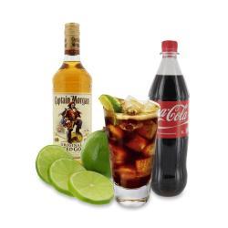 Set: Longdrink Captain Morgan® & Cola für 18 Gläser - 2145300005464